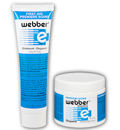 Webber First Aid Ointment with Vitamin E