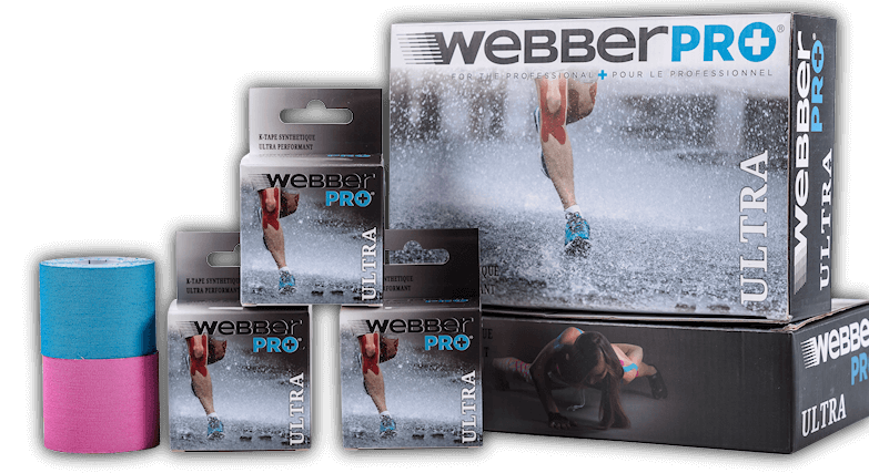 WebberPRO kinesiology tape Ultra