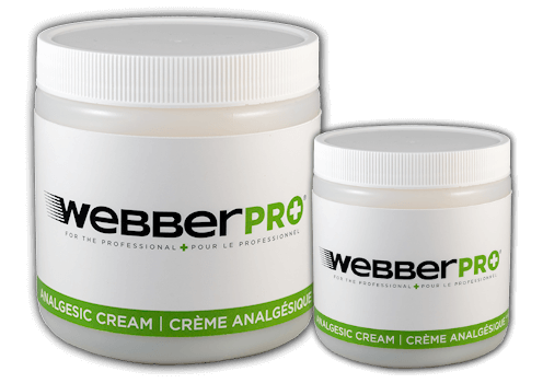 WebberPRO Analgesic cream